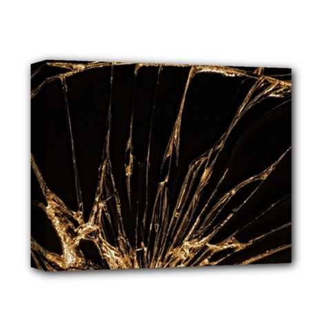 Background Abstract Structure Deluxe Canvas 14  X 11  by Celenk