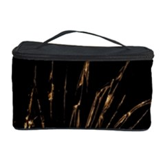 Background Abstract Structure Cosmetic Storage Case by Celenk