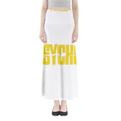 Psycho  Full Length Maxi Skirt by Valentinaart