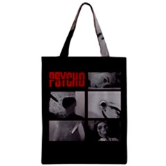 Psycho  Zipper Classic Tote Bag by Valentinaart