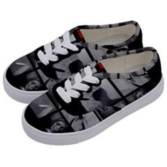 Psycho  Kids  Classic Low Top Sneakers by Valentinaart