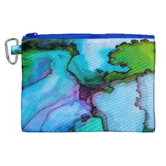 Abstract Painting Art Canvas Cosmetic Bag (xl) by Celenk