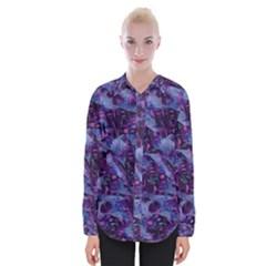 Techno Grunge Punk Womens Long Sleeve Shirt by KirstenStar