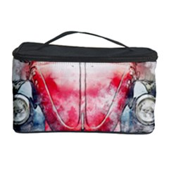 Red Car Old Car Art Abstract Cosmetic Storage Case by Celenk