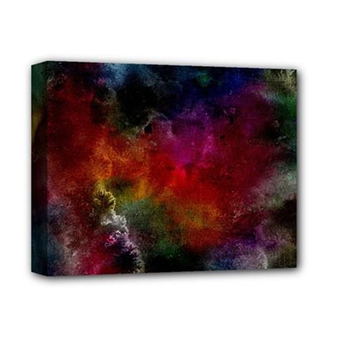 Abstract Picture Pattern Galaxy Deluxe Canvas 14  X 11  by Celenk