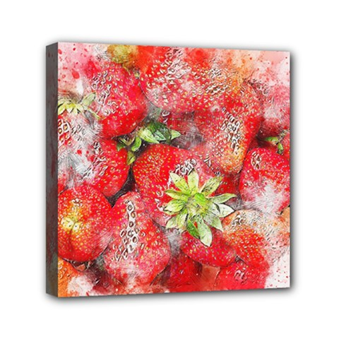 Strawberries Fruit Food Art Canvas Travel Bag by Celenk