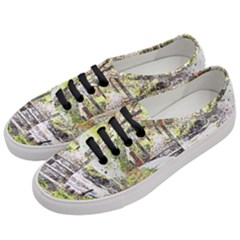 River Bridge Art Abstract Nature Women s Classic Low Top Sneakers by Celenk