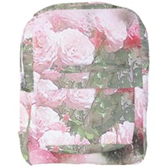 Flowers Roses Art Abstract Nature Full Print Backpack by Celenk