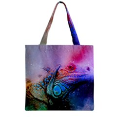 Lizard Reptile Art Abstract Animal Grocery Tote Bag