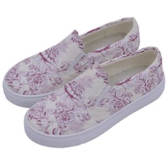 French Chic Kids  Canvas Slip Ons by 8fugoso