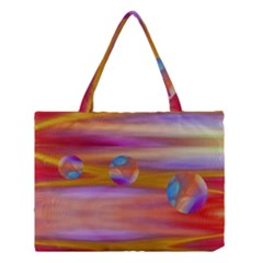 Space World Pattern Medium Tote Bag