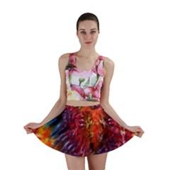 Vibrant Hippy Tye Dye Mini Skirt by KirstenStar