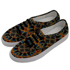Tapestry Pattern Men s Classic Low Top Sneakers by linceazul