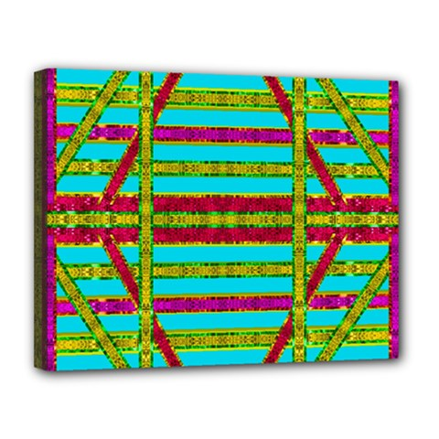 Gift Wrappers For Body And Soul Canvas 14  X 11  by pepitasart