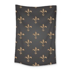 Fleur De Lis Small Tapestry by 8fugoso