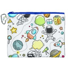 Sketch Set Cute Collection Child Canvas Cosmetic Bag (xxl) by Celenk