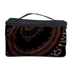 Fractal Stripes Abstract Pattern Cosmetic Storage Case