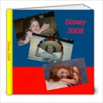 Disney Book - 8x8 Photo Book (30 pages)