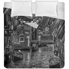 Venice Italy Gondola Boat Canal Duvet Cover Double Side (king Size) by Celenk