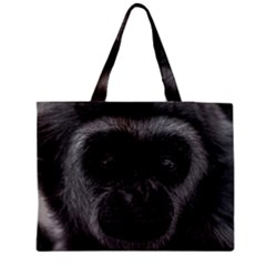 Gibbon Wildlife Indonesia Mammal Zipper Medium Tote Bag