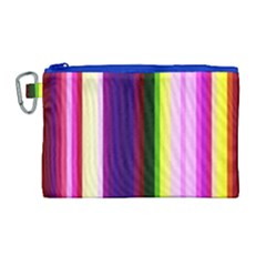 Abstract Background Pattern Textile 2 Canvas Cosmetic Bag (large) by Celenk