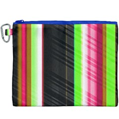 Abstract Background Pattern Textile Canvas Cosmetic Bag (xxxl) by Celenk