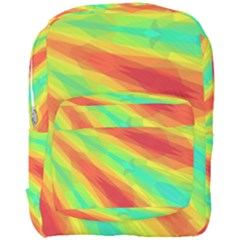 Graphic Kaleidoscope Geometric Full Print Backpack by Celenk