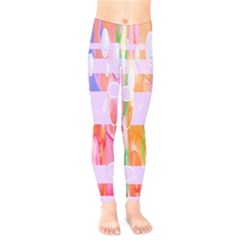 Watercolour Paint Dripping Ink Kids  Legging by Celenk