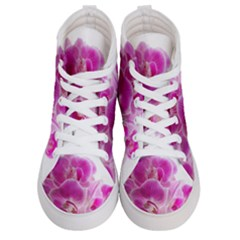 Orchid Phaleonopsis Art Plant Men s Hi Top Skate Sneakers