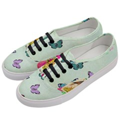 Whimsical Shabby Chic Collage Women s Classic Low Top Sneakers by 8fugoso
