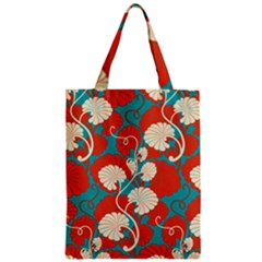 Floral Asian Vintage Pattern Classic Tote Bag by 8fugoso