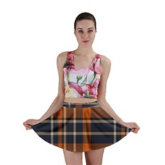 Abstract Background Pattern Textile 6 Mini Skirt