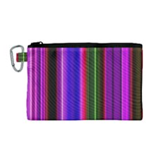 Abstract Background Pattern Textile 4 Canvas Cosmetic Bag (medium) by Celenk