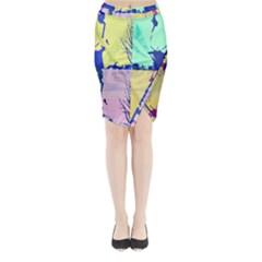 Girlfriend  respect Her   Midi Wrap Pencil Skirt
