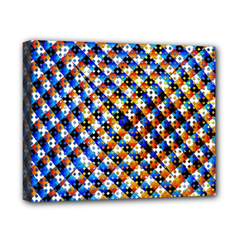 Kaleidoscope Pattern Ornament Canvas 10  X 8  by Celenk