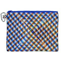 Kaleidoscope Pattern Ornament Canvas Cosmetic Bag (xxl) by Celenk