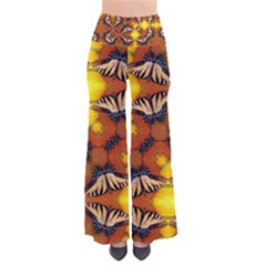 Dancing Butterfly Kaleidoscope Pants by Celenk