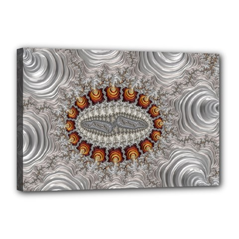 Fractal Fantasy Design Imagination Canvas 18  X 12  by Celenk