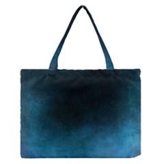 Ombre Zipper Medium Tote Bag by ValentinaDesign