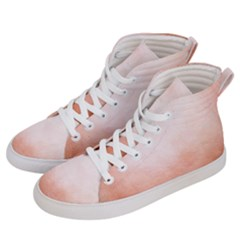 Ombre Women s Hi Top Skate Sneakers by ValentinaDesign