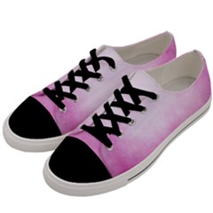 Ombre Men s Low Top Canvas Sneakers by ValentinaDesign
