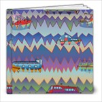 Zig zag boats Pencil Cases