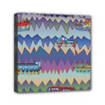 Zig zag boats Canvas Travel Bag