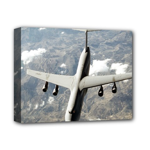 Usaf C 5 Galaxy Deluxe Canvas 14  X 11  by allthingseveryday