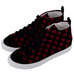 Canada Shoes Women s Mid Top Canvas Sneakers by CanadaSouvenirs