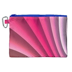 Wave Pattern Structure Texture Colorful Abstract Canvas Cosmetic Bag (xl) by Celenk
