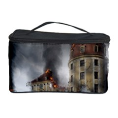 Destruction Apocalypse War Disaster Cosmetic Storage Case by Celenk