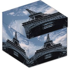 Eiffel Tower France Landmark Storage Stool 12   by Celenk