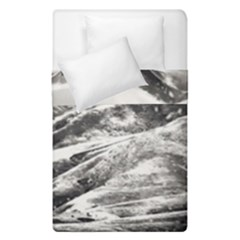 Mountains Winter Landscape Nature Duvet Cover Double Side (single Size) by Celenk