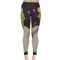 The Little Prince Leggings  by Valentinaart